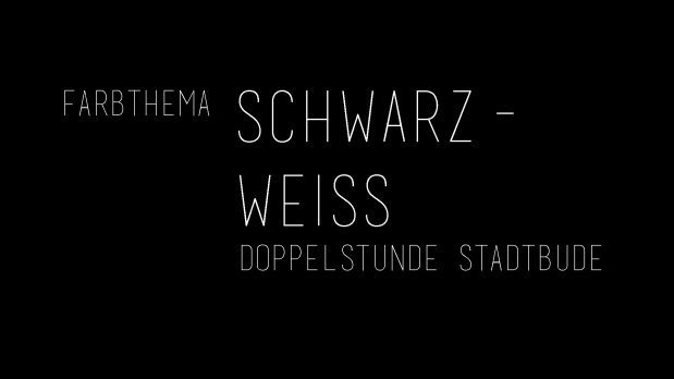 stadtbude Doppelstunde: Einrichtung in schwarz-weiß – STADTBUDE ...